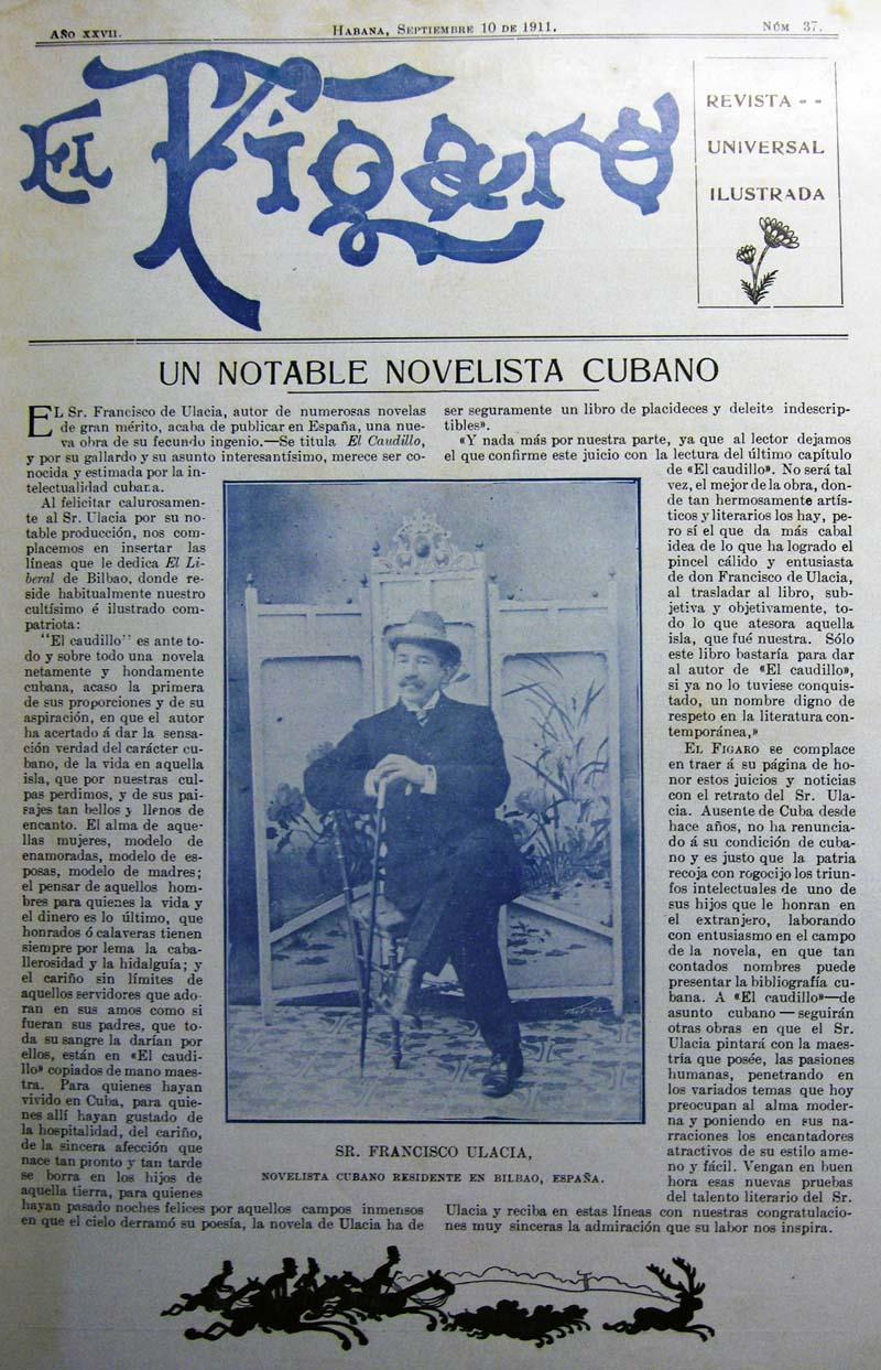 Portada de El Figaro. Habana, 1911_800px.