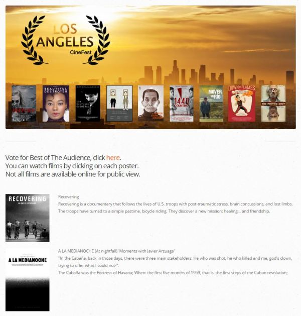 Web Cinefest june 2015
