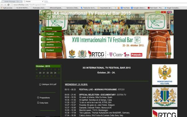 Web TV festival 2015